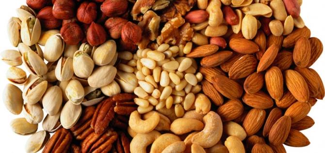 Kuruyemişte Bulunan Vitamin Ve Mineraller